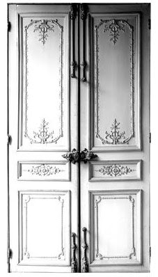 stick on door by maison martin margiela
