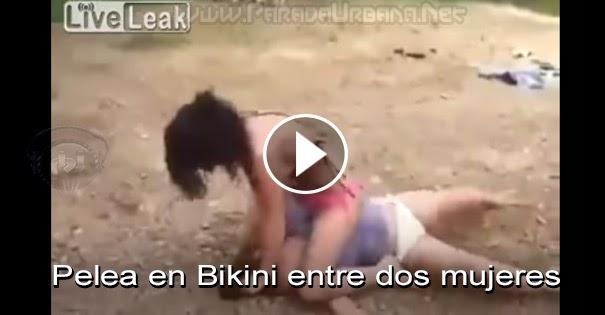 Pelea en Bikini entre dos mujeres