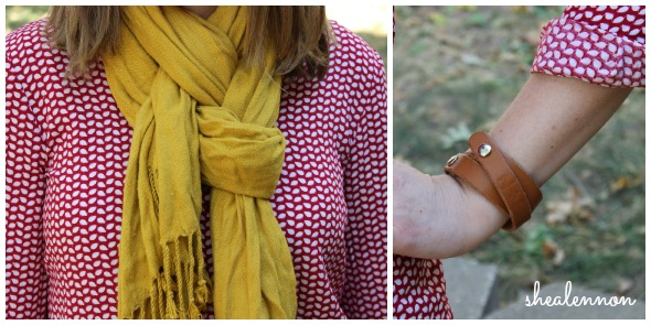 red print with mustard yellow | www.shealennon.com