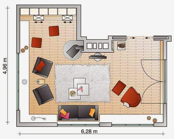 Foundation dezin decor small living room layout 39 s for Room furnishing planner