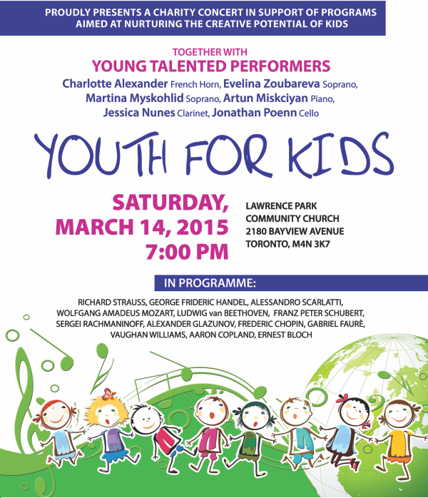 Youth for Kids: Classical Music Charity Concert
