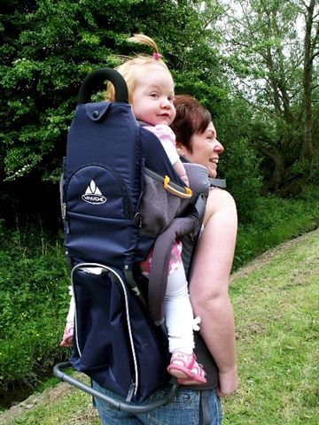Canny Camping Guide To Child Back Carriers