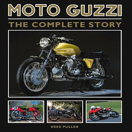 Moto Guzzi book - signed and dedicated