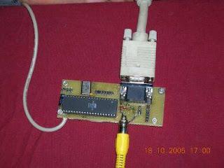 Conversor VGA - Vídeo AVR