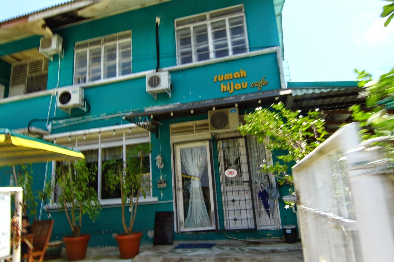 Rumah Hijau Cafe Kuching