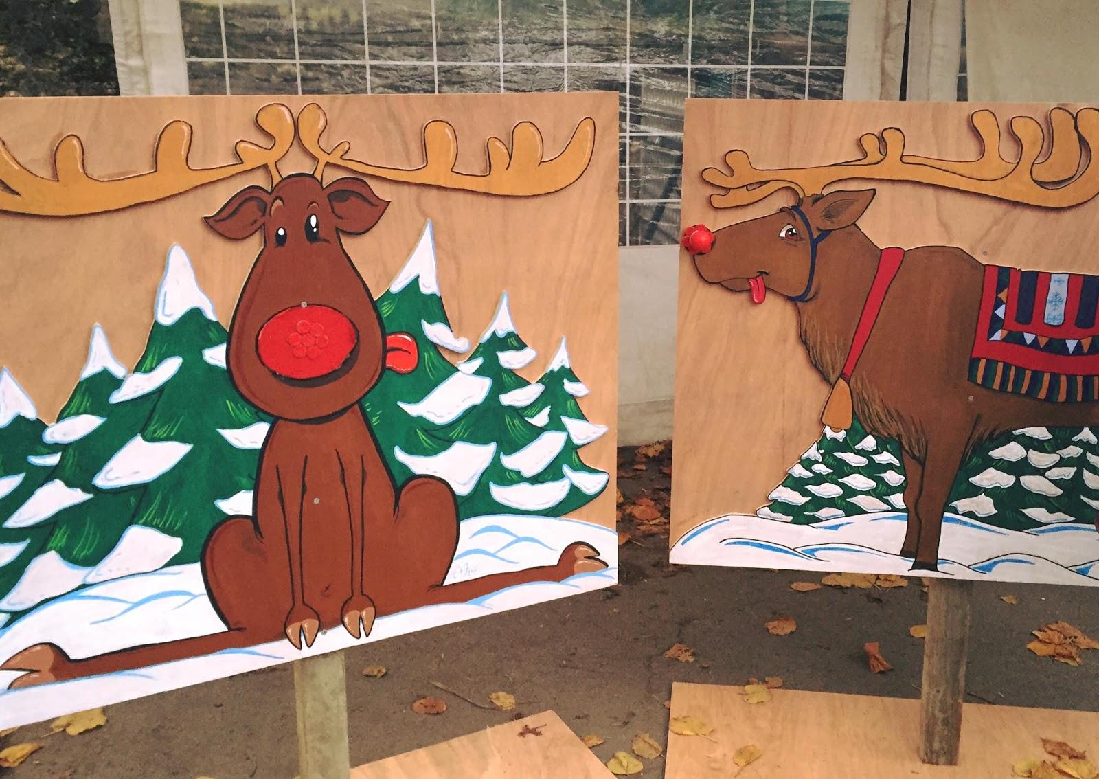 D formation professionnelle peinture sur bois rennes de no l - Renne de noel en bois ...