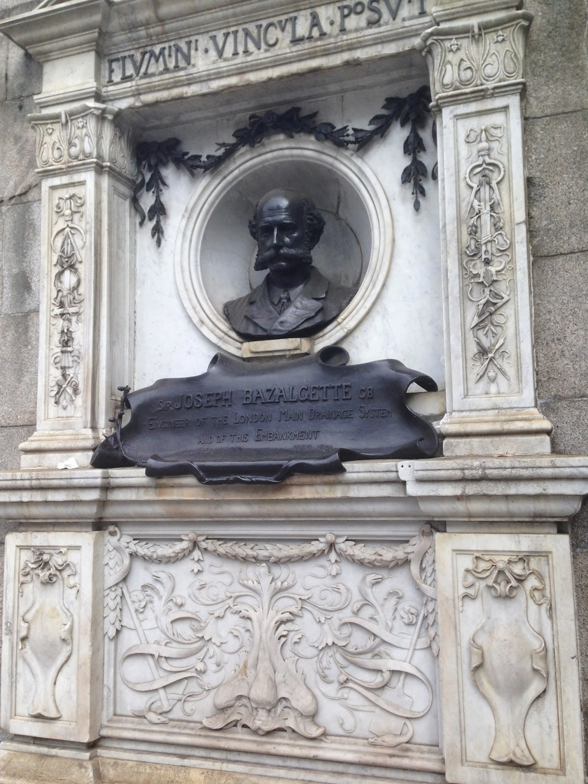Memorial to Sir Joseph Bazalgette