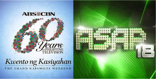 ABS-CBN Celebrates 60 Years on ASAP 18 with More than 100 Kapamilya Stars (October 6)