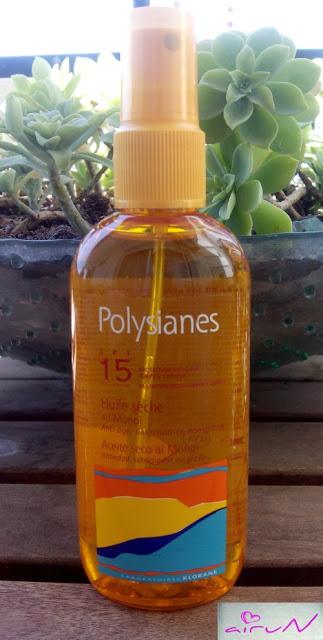 polysianes klorane 15 solar