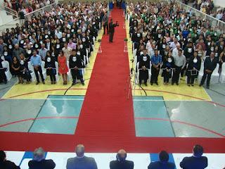 CES/UFCG de Cuité realiza Colação de Grau das turmas concluintes 2015.1