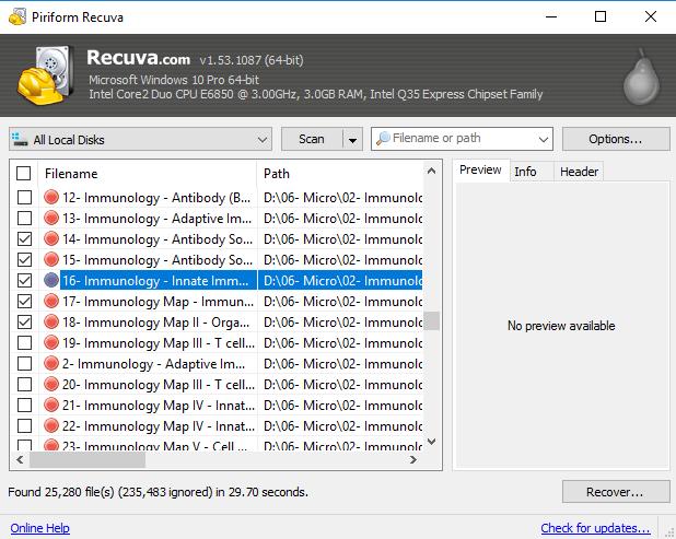 تحميل*اخر اصدار برنامج ريكوفا*2018 Recuva Recuva-Screenshot-2.