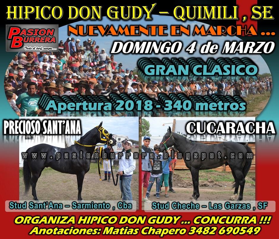 DON GUDY - QUIMILI - 4 DE MARZO