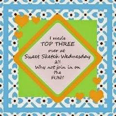 Top Three at Sweet Sketch Wednesday 2
