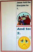 Here are the printables for the Disciples page of the lapbook: