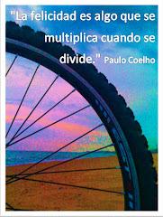 """""""La felicitat és quelcom que es multiplica quan es divideix"""""""