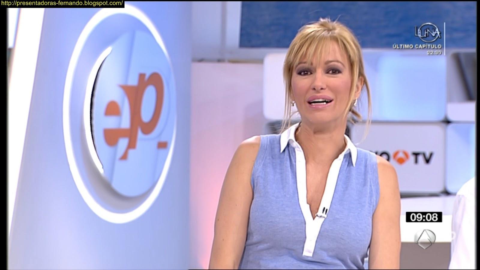 Presentadoras fernando susana griso espejo publico 26 6 2012 for Espejo publico verano