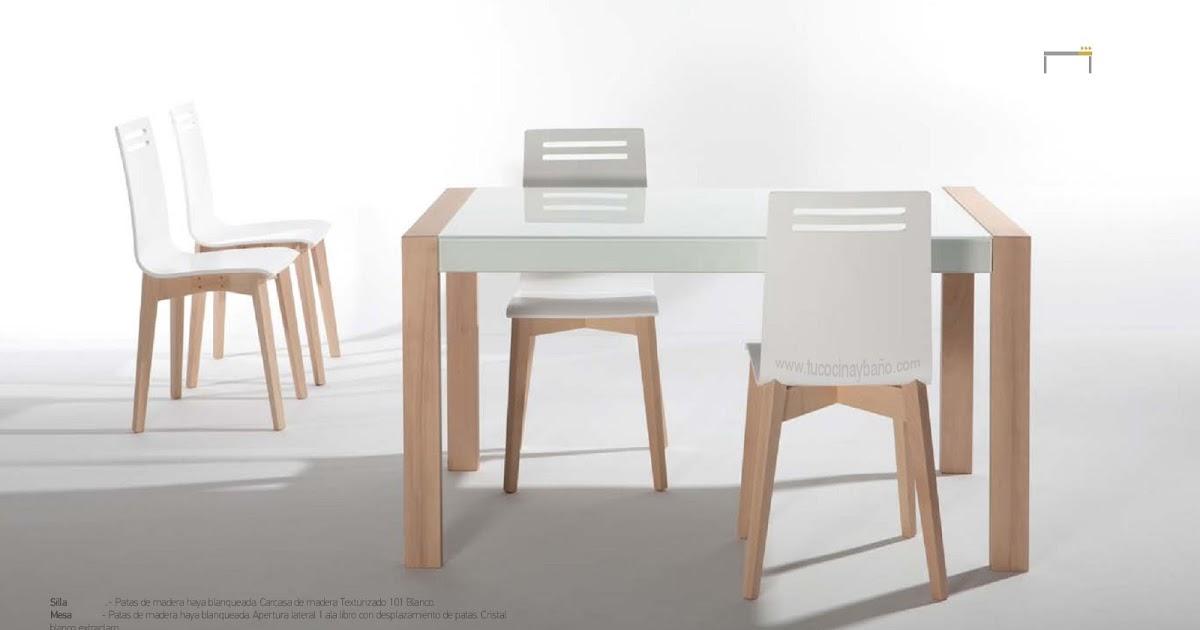 Mesa de cocina de estilo nordico reformas guaita - Mesa cocina ikea plegable ...