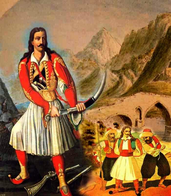 Σαν χθες, σαν σήμερα και σαν αύριο ο Αθανάσιος Διάκος απελευθέρωσε Λιβαδειά, Αταλάντη και Θήβα και προχωράει προς το τραγικό τέλος του