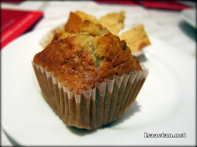 I do love Kenny Roger's home-made muffins, perfect when taken hot from the oven