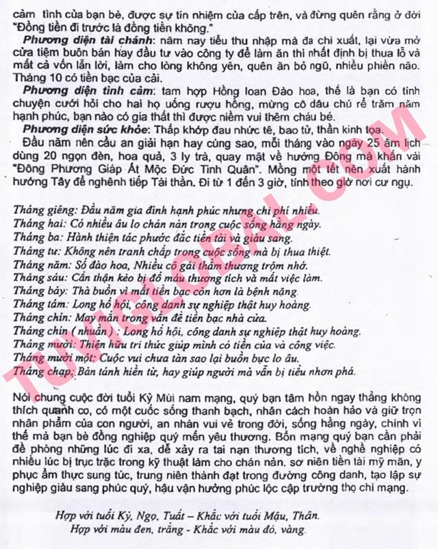 TỬ VI TUỔI KỸ MÙI 1979 NĂM 2014 GIÁP NGỌ - Blog Trần Tứ ...