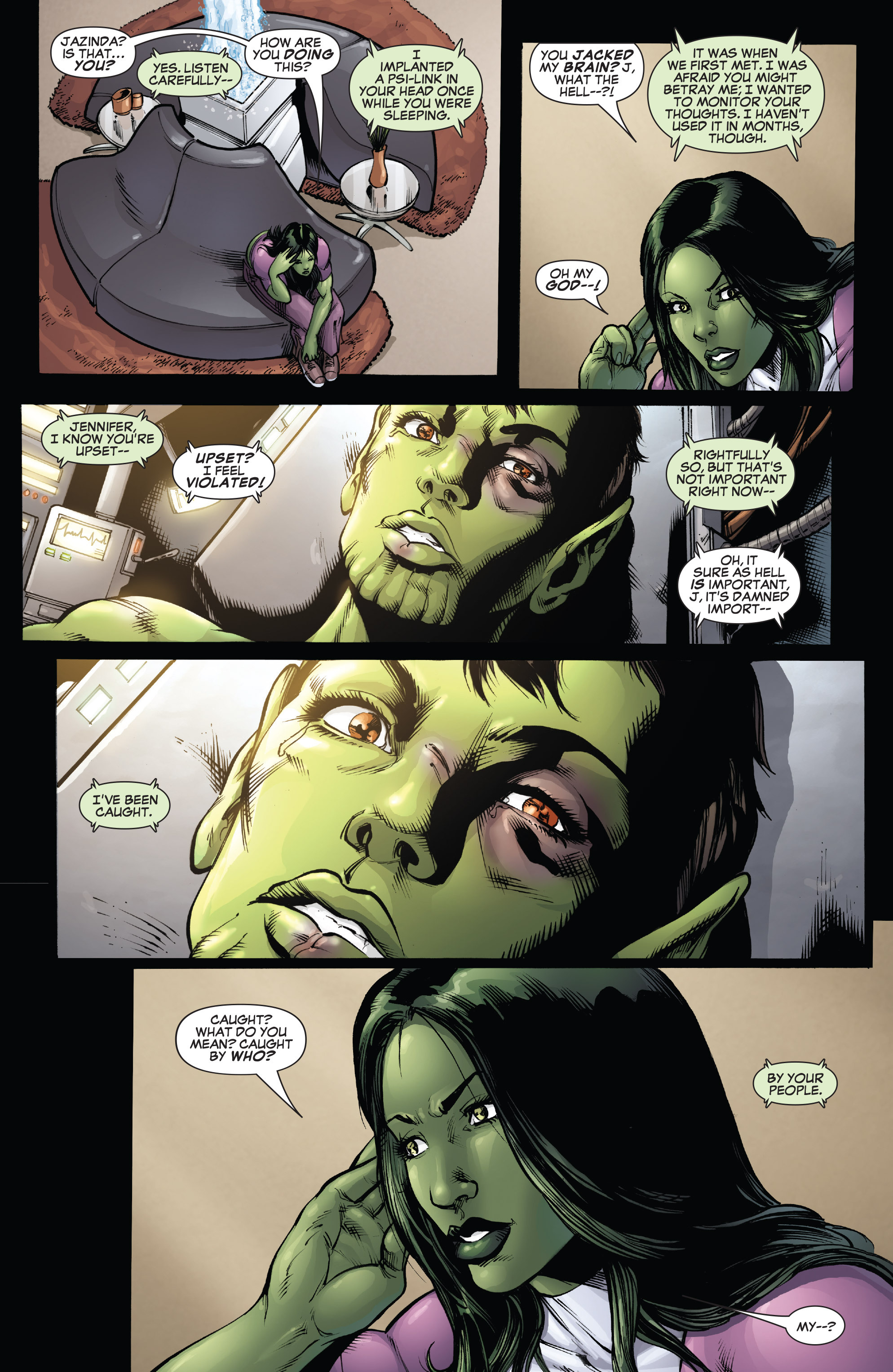 She-Hulk (2005) Issue #38 #38 - English 6