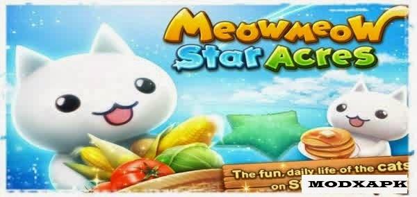 Meow Meow Star Acres  1.2.4 Mod APK Unlimited Money