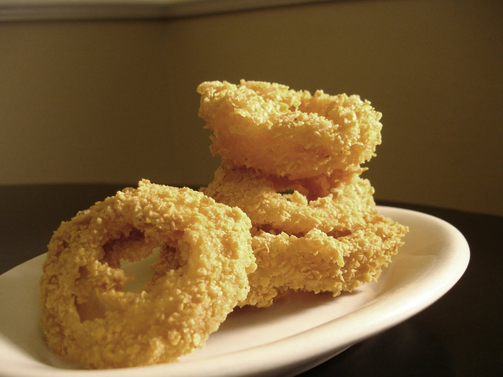 Don't Disturb This Groove: Crispy Coated Onion Rings