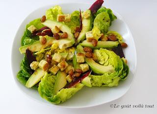 Salade de magret fumé