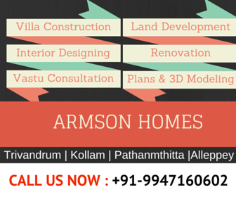 Armson Homes is one of the premier interior design firms in South India.