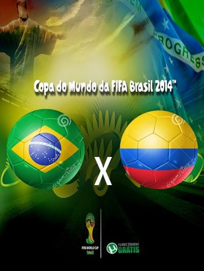 Brasil x Colombia Quartas de Final Copa do Mundo 2014