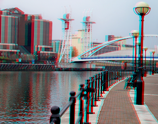 3d stereo image salford quays