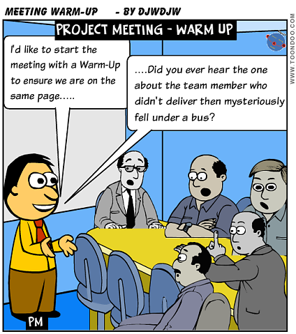 Project Meeting Warm-Up