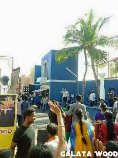 Suriya In Masss Shooting Spot