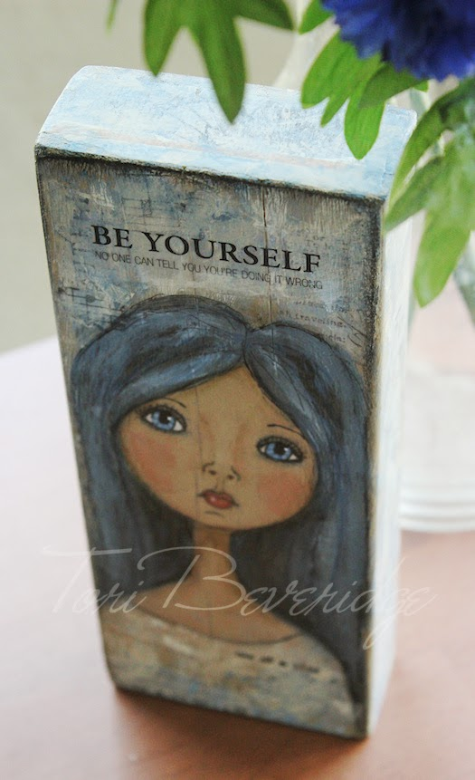 Be Yourself Inspiration Block by Tori Beveridge 5