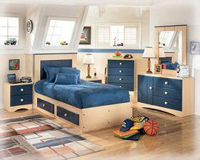 Dormitorios Juveniles Modernos en color azuil