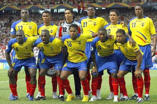jugadores de la seleccion ecuatoriana: