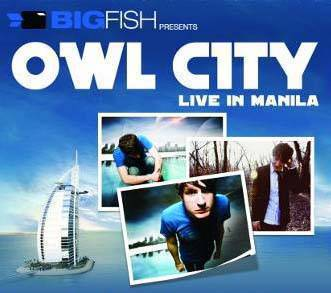 Owl City Live in Manila 2011 Ticket Prices, Owl City Live in Manila 2011 poster, image, picture, photo, billboard, promo