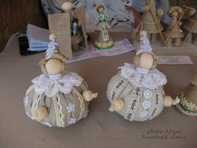 Куклы из джута