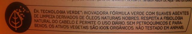 shampoo livre para low poo