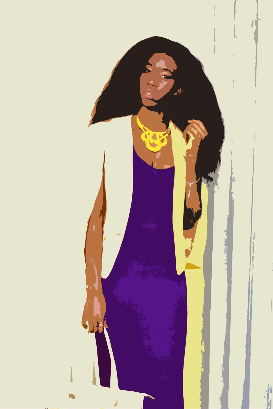 yellow cape blazer, how to wear a cape blazer, cape blazer trend, style with Ezil, African fashion blogger, Kenyan fashion Blogger, Ezil, purple and yellow outfit.