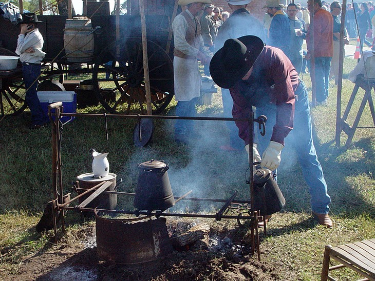 Cowboys And Chuckwagon Cooking Cast Iron Cooking From