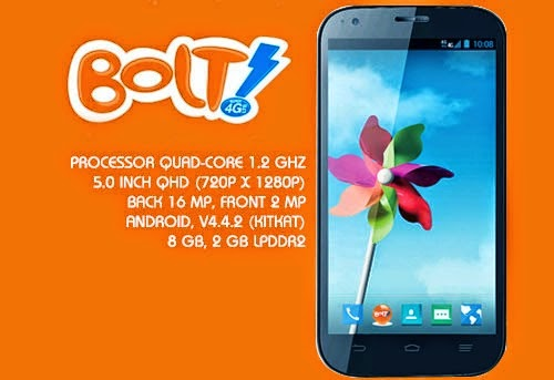 Harga dan Spesifikasi Lengkap BOLT Powerphone ZTE V9820