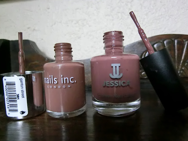 Jessica Guilty Pleasures Vs Nails Inc Ganton Street Swatch