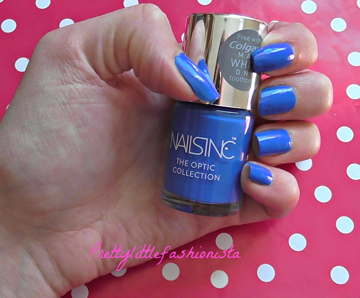 NOTD: Nails Inc Optic Wave