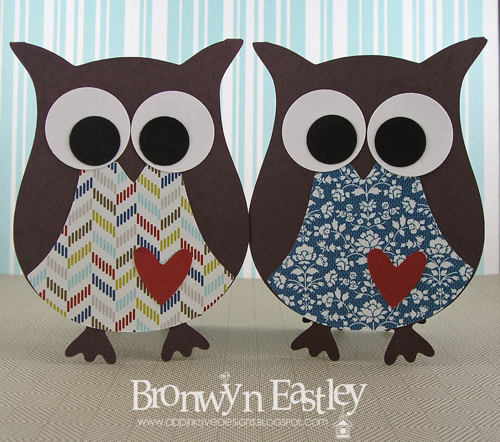 addinktive designs how to make an owl card using mds and an e cutter