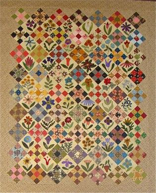 Moose Bay Muses: The Calico Garden Quilt : quilts n calicoes - Adamdwight.com