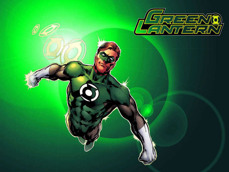 Green Lantern Cartoon Wallpaper