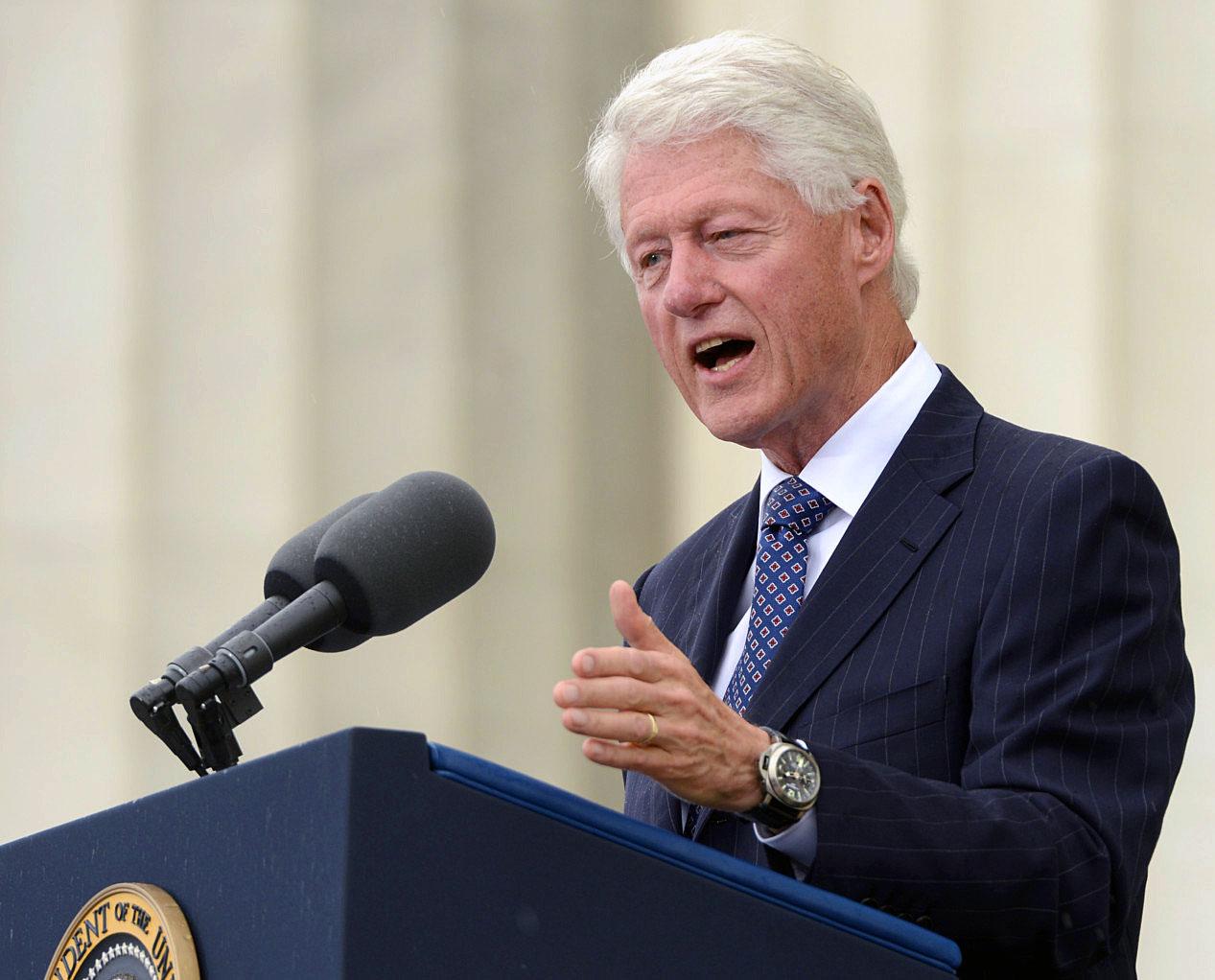 Resultado de imagen para Bill Clinton y su Panerai Luminor Marina