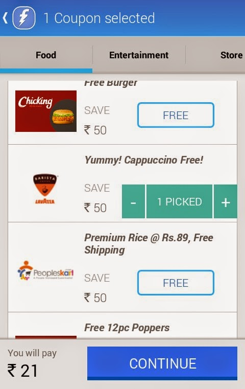(Latest) Freecharge Tricks : Get Rs 20 Cashback at Re 1 only