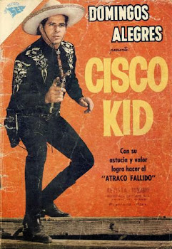 CISCO KID Nº 306  1960 DOMINGOS ALEGRES
